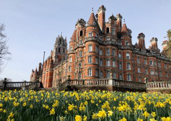 Saloni joins Royal Holloway